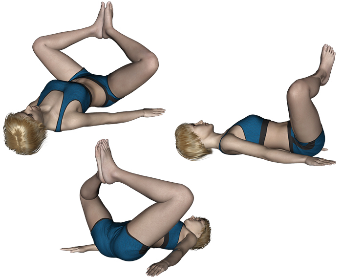 Stretching : Bassin - Exercice de stretching N°9 - Muscles du bassin (adducteurs et muscles profonds)